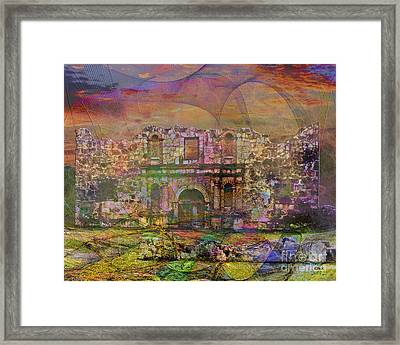 Alamo - After The Fall Framed Print