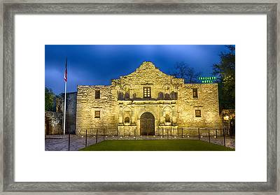Alamo Dawn Framed Print