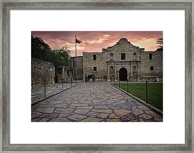 Alamo Framed Print
