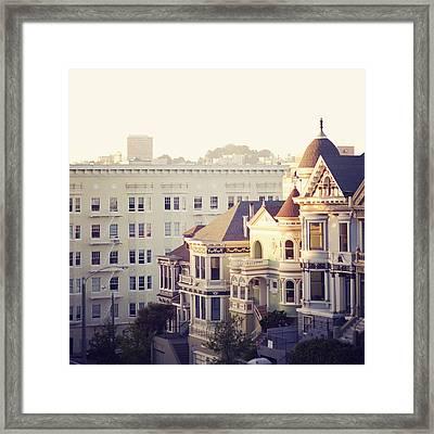 Alamo Square, San Francisco Framed Print by Image - Natasha Maiolo