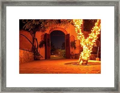 Alamos Mexico Framed Print by Thomas R Fletcher