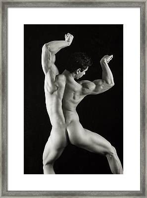 Alan 1 Framed Print by Thomas Mitchell