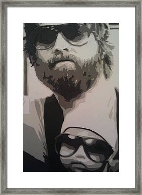 Alan And Carlos Framed Print by  Dustin  Burnette