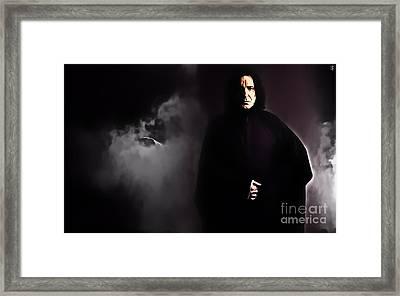 Alan Rickman Framed Print