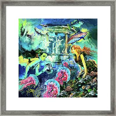 Alantis Framed Print