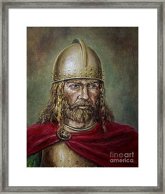 Alaric The Visigoth Framed Print