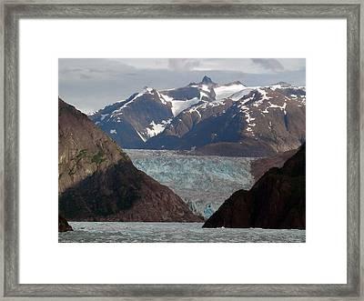 Alaska Blue Framed Print by Armand Hebert