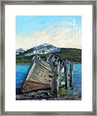 Alaska Framed Print by Cat Culpepper