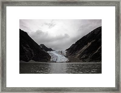 Alaska Glacier 2 Framed Print
