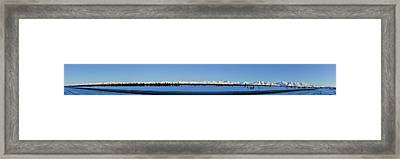 Alaska Highway Panorama Framed Print