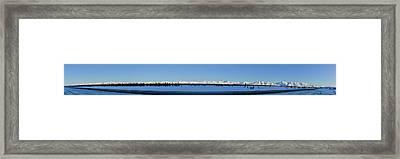 Alaska Highway Panorama Framed Print