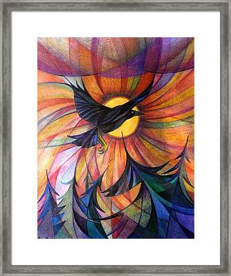 Alaska Morning Framed Print