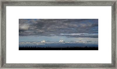 Alaska Mountains Framed Print by Dave Clark