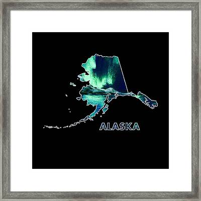 Alaska - Northern Lights - Aurora Hunters Framed Print by Anastasiya Malakhova