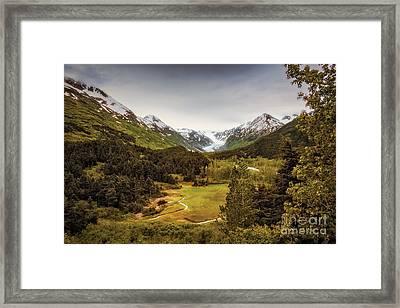 Alaska Scenic 1932 Framed Print