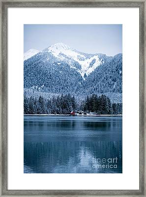 Alaska Solitude Framed Print by Mike Reid