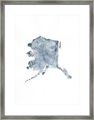 Alaska - Vertical Framed Print