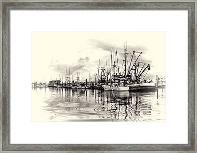 Ketchikan Harbor 2 Framed Print by Marilyn Wilson