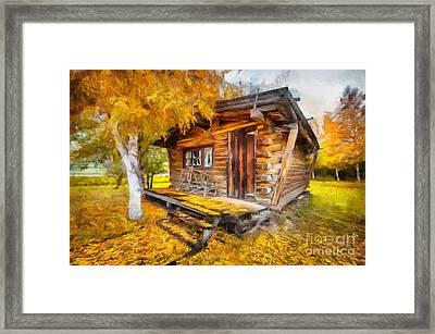 Alaskan Autumn Framed Print