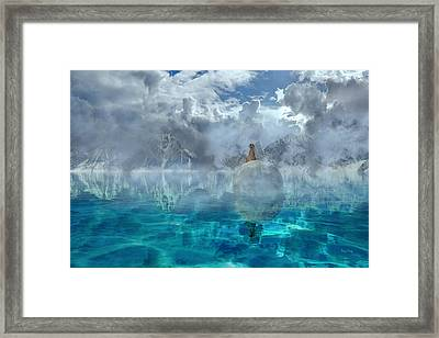 Alaskan Avalon Framed Print by Betsy Knapp