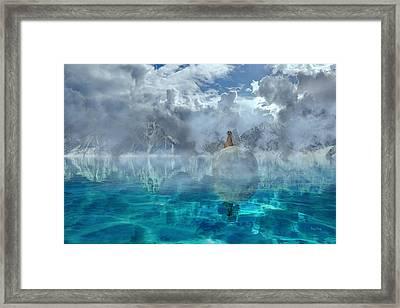 Alaskan Avalon Framed Print by Betsy Knapp