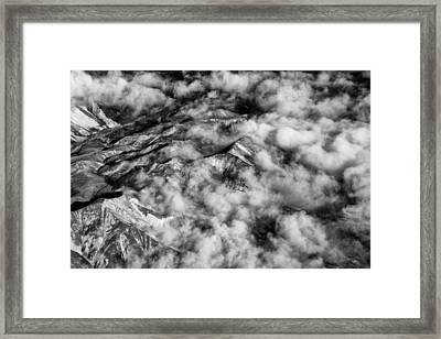 Alaskan Foothills Framed Print by Rick Berk