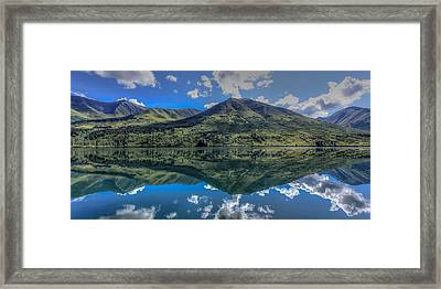 Alaskan Reflections Framed Print