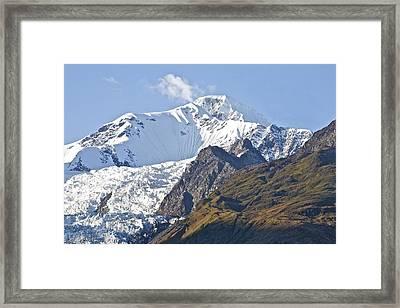 Alaskan Snowtop Framed Print by Robert Joseph