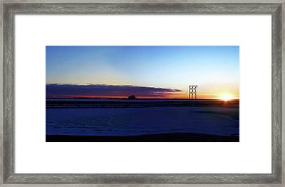 Alaskan Sunrise Framed Print