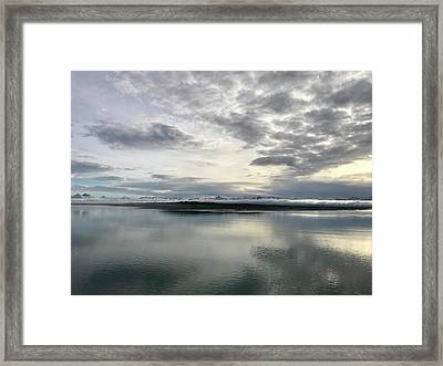 Alaskan Sunrise Framed Print