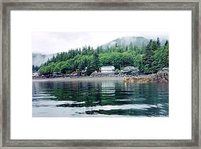 Alaskan Village Framed Print by Judyann Matthews