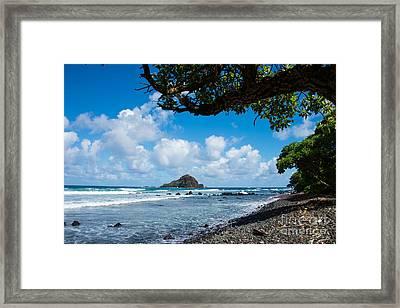 Alau Island, Maui Framed Print