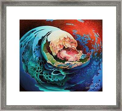 Alba Framed Print by Symona Colina