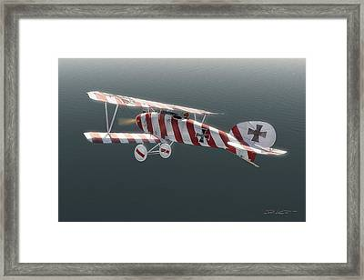 Albatros D.iii Of Jasta 11 Framed Print by David Collins