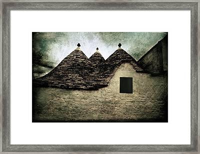 Alberobello - Trulli Framed Print
