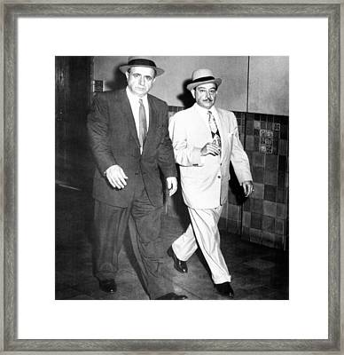 Albert Anastasia Left Leaves Federal Framed Print