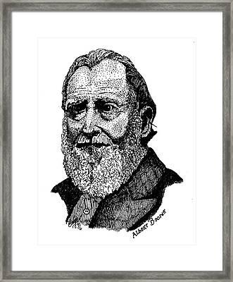 Albert Boone Framed Print by Clayton Cannaday