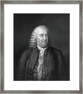 Albert De Haller 1708 To 1777 Also Framed Print by Vintage Design Pics