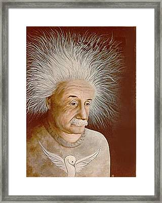 Albert E. Framed Print
