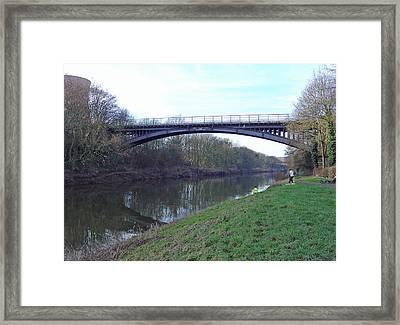 Albert Edward Bridge  Framed Print by Rod Johnson