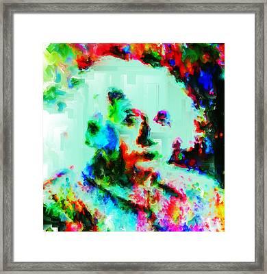 Albert Einstein 1a Framed Print