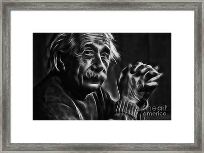Albert Einstein Collection Framed Print