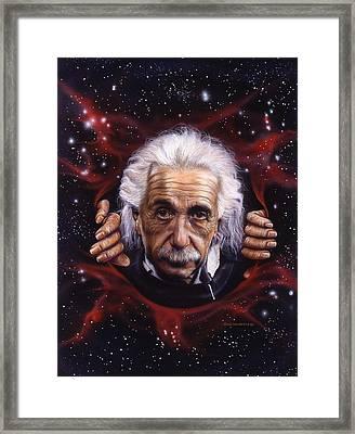 Albert Framed Print by Timothy Scoggins