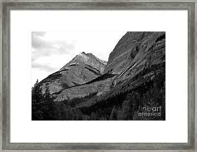 Framed Print featuring the photograph Alberta, 2015 by Elfriede Fulda