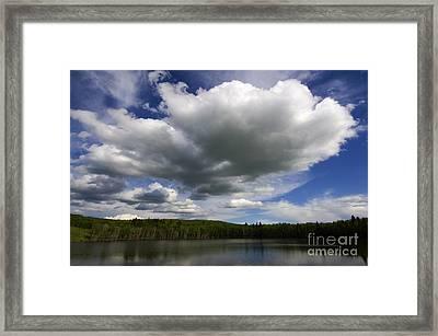 Alberta Bound 3 Framed Print