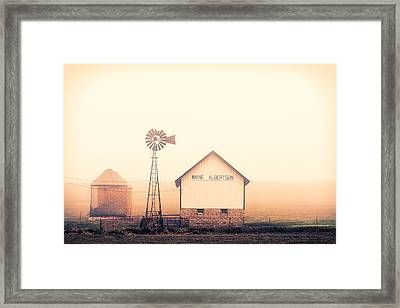 Albertson Farm Framed Print by Todd Klassy