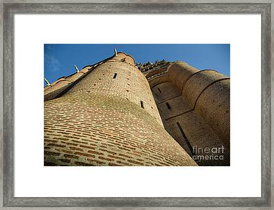 Albi Cathedral Low Angle Framed Print by RicardMN Photography