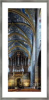 Albi Cathedral Nave Framed Print