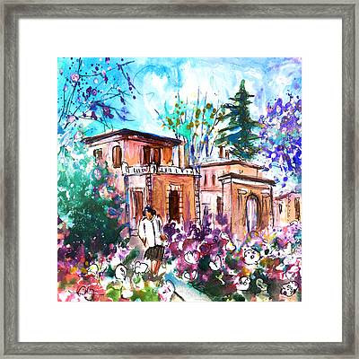 Albi En Fleur Framed Print by Miki De Goodaboom