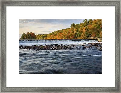 Albion Dam Framed Print